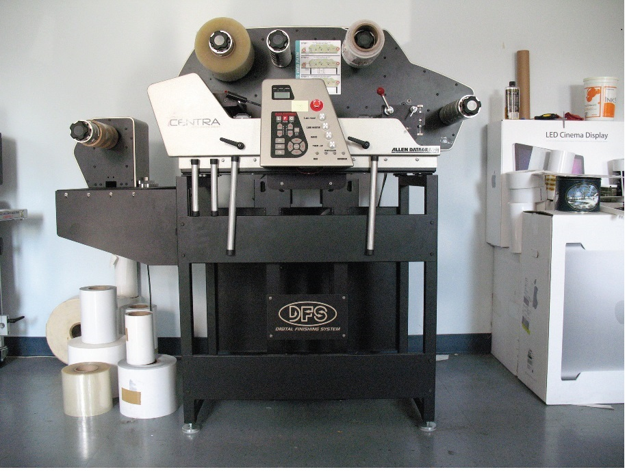 Allen Datagraph Centra 1000 - Used Flexo Printing Presses and Used Flexographic Equipment-2