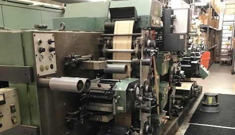 Gallus R160 - Used Flexo Printing Presses and Used Flexographic Equipment