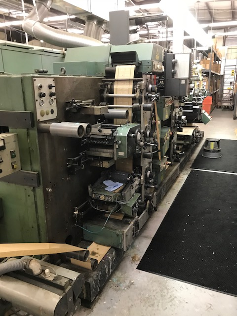 Gallus R160 - Used Flexo Printing Presses and Used Flexographic Equipment-4