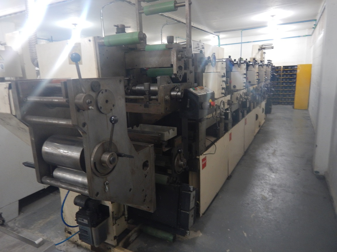Nilpeter B200 - Used Flexo Printing Presses and Used Flexographic Equipment-0