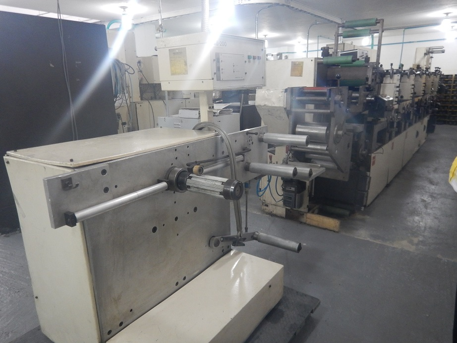 Nilpeter B200 - Used Flexo Printing Presses and Used Flexographic Equipment-3
