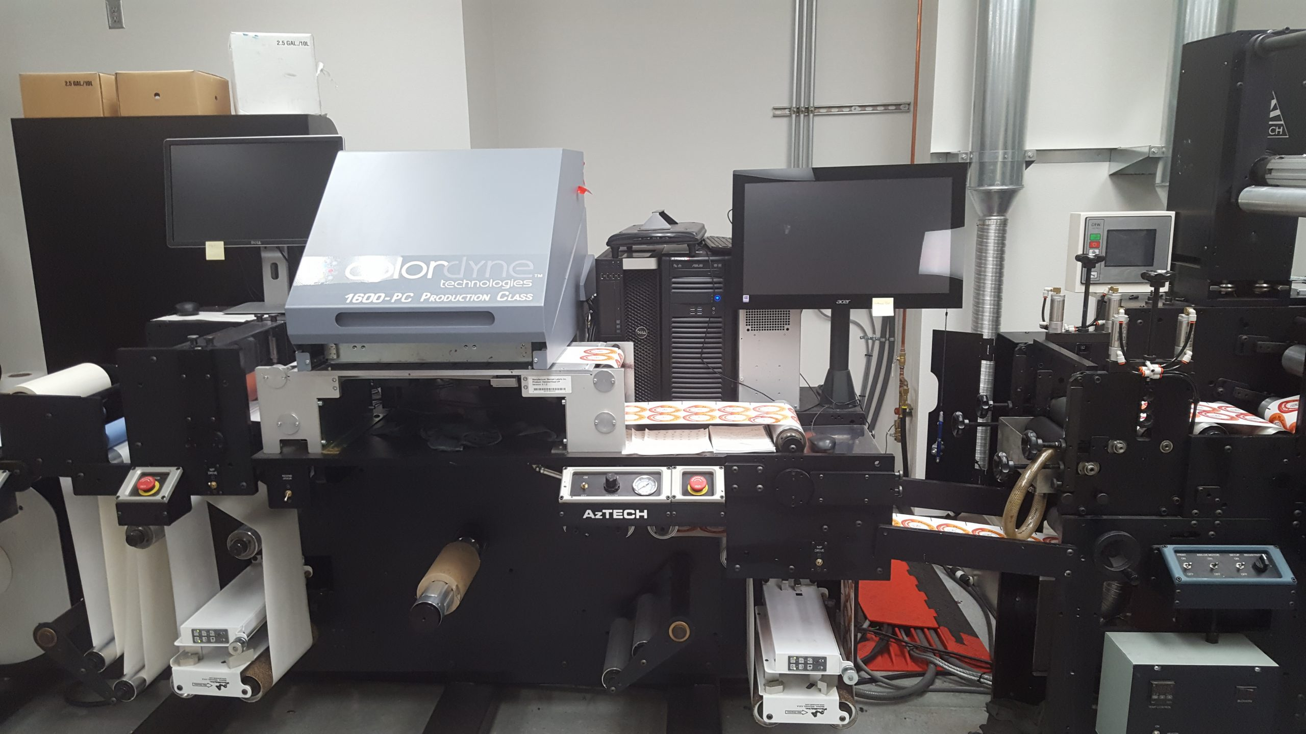 Colordyne/Memjet/Axtech CDT1600-PC - Used Flexo Printing Presses and Used Flexographic Equipment-0