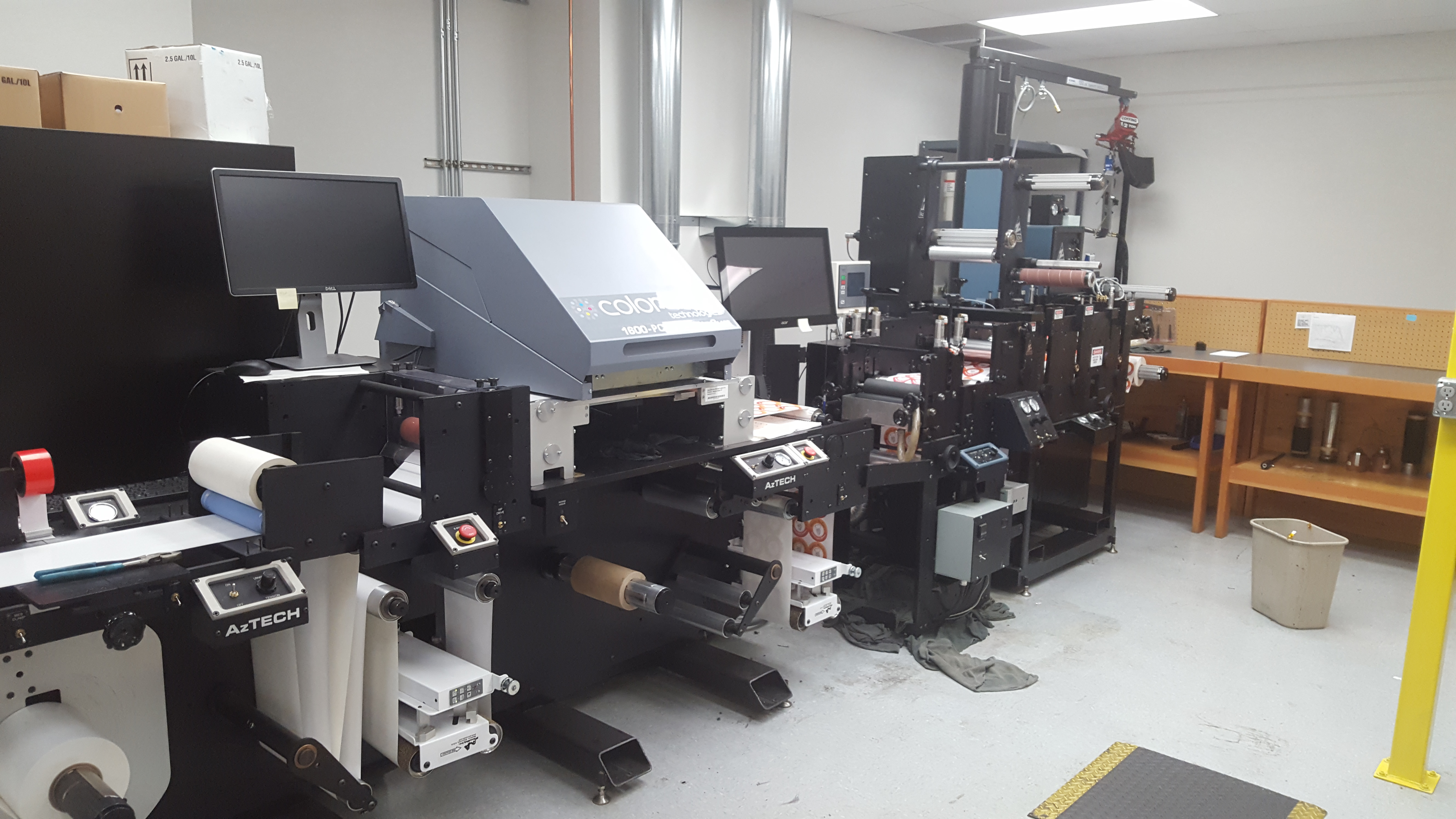 Colordyne/Memjet/Axtech CDT1600-PC - Used Flexo Printing Presses and Used Flexographic Equipment-1