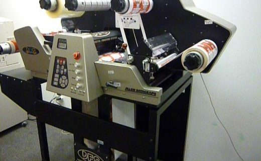 Allen Datagraph DFS 1000 - Used Flexo Printing Presses and Used Flexographic Equipment