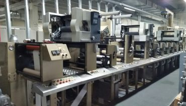 Aquaflex LX - Used Flexo Printing Presses and Used Flexographic Equipment