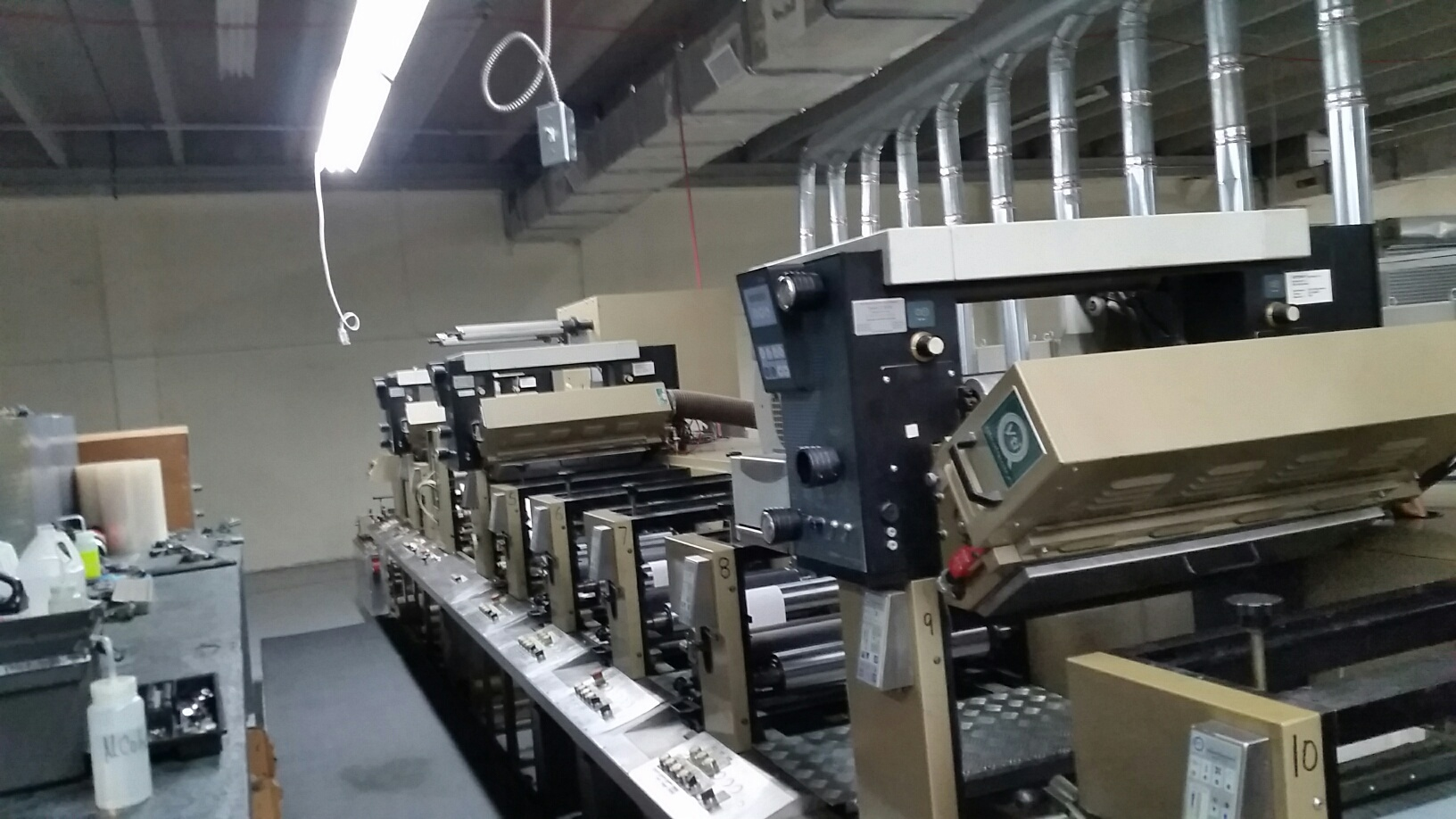 Aquaflex LX - Used Flexo Printing Presses and Used Flexographic Equipment-4