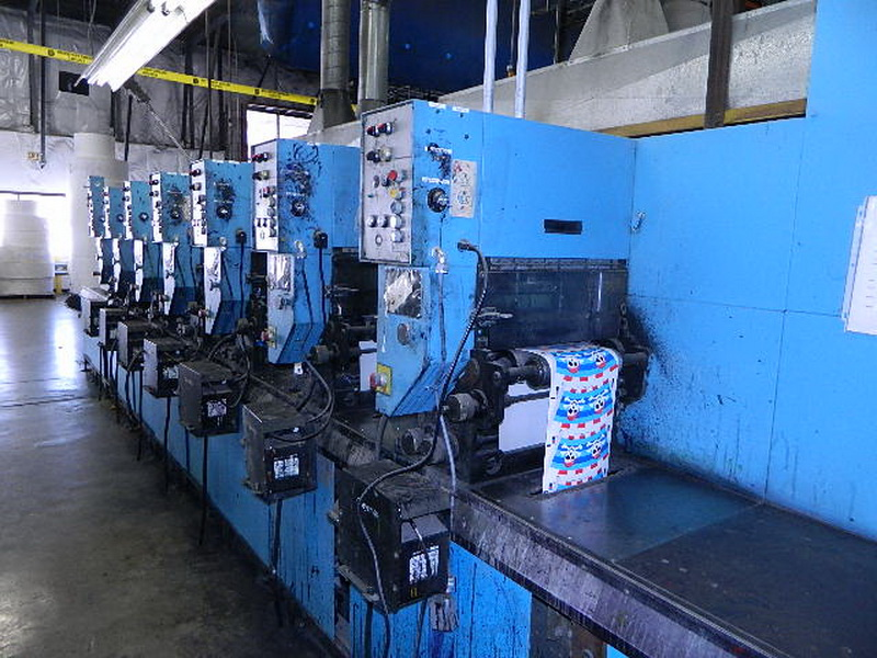 Webtron 1000 - Used Flexo Printing Presses and Used Flexographic Equipment-9