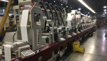 Mark Andy XP5000-13A - Used Flexo Printing Presses and Used Flexographic Equipment