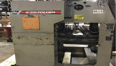 Zig Zag Z331 - Used Flexo Printing Presses and Used Flexographic Equipment