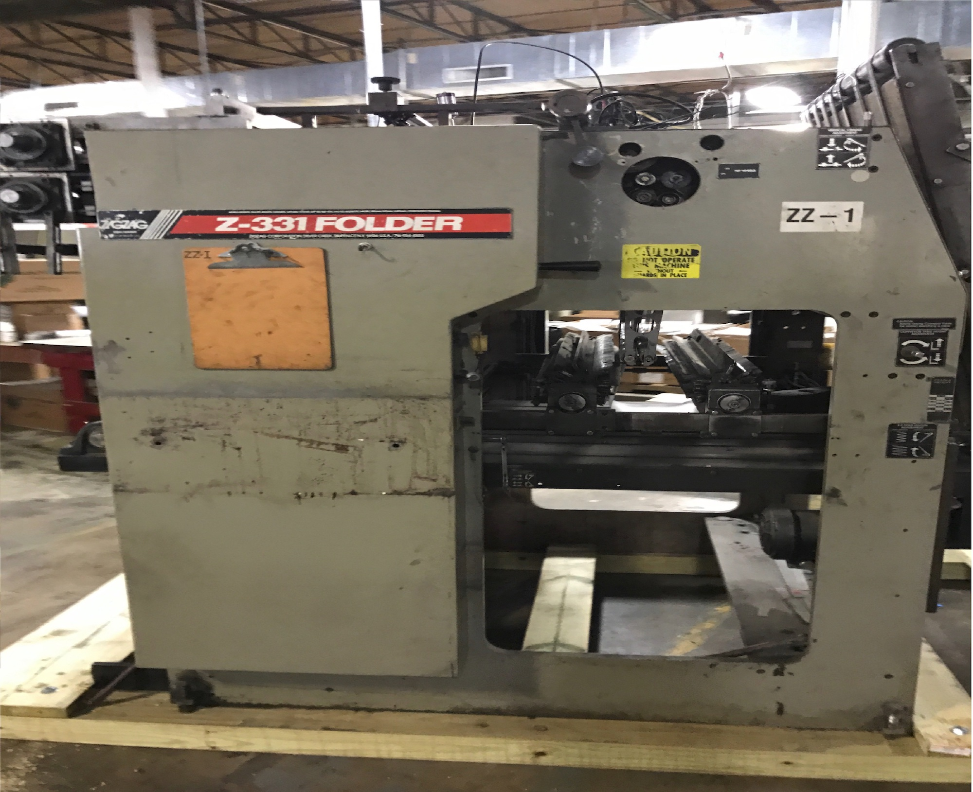 Zig Zag Z331 - Used Flexo Printing Presses and Used Flexographic Equipment-0