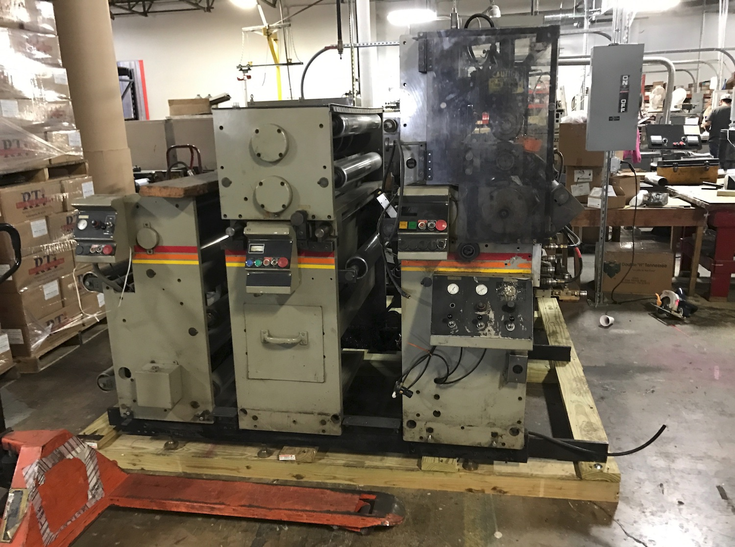 Zig Zag Z331 - Used Flexo Printing Presses and Used Flexographic Equipment-1