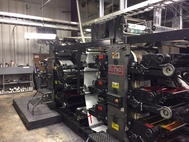 Kopack 350 - Used Flexo Printing Presses and Used Flexographic Equipment-0
