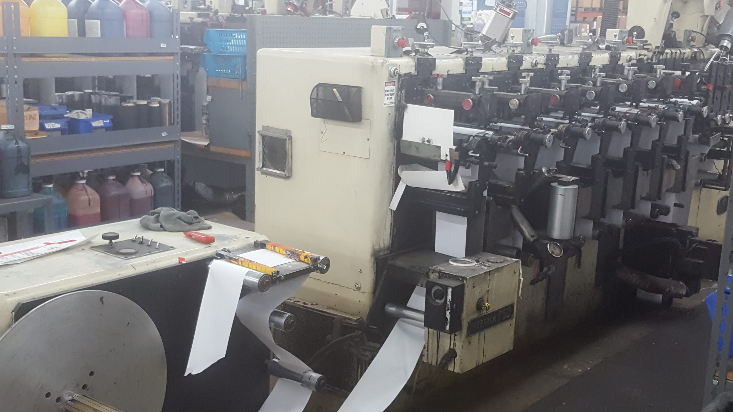 Stanford 142 - Used Flexo Printing Presses and Used Flexographic Equipment-0