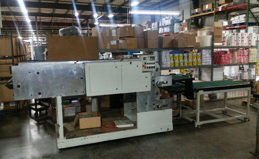 Gannicott Sheeter Stacker - Used Flexo Printing Presses and Used Flexographic Equipment