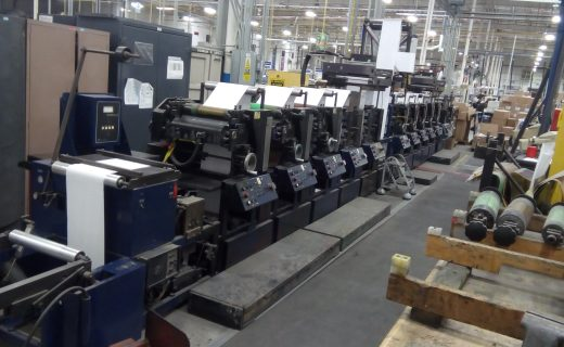 Propheteer 1800 - Used Flexo Printing Presses and Used Flexographic Equipment