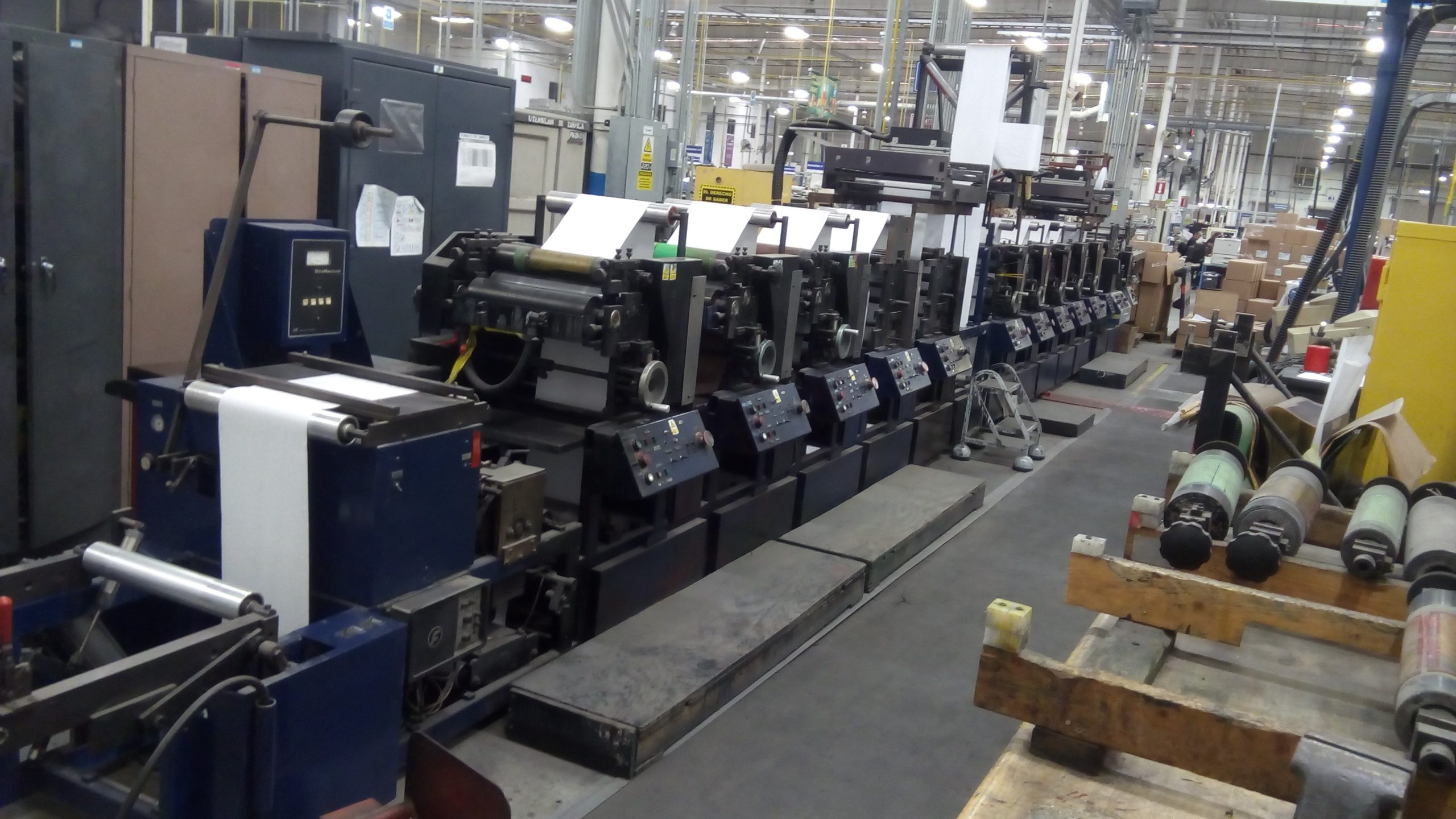 Propheteer 1800 - Used Flexo Printing Presses and Used Flexographic Equipment-0