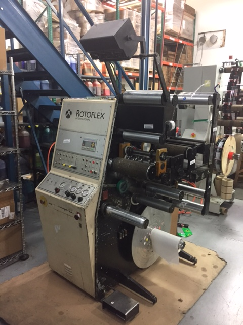 Rotoflex VSI250 - Used Flexo Printing Presses and Used Flexographic Equipment-0