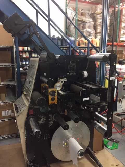 Rotoflex VSI250 - Used Flexo Printing Presses and Used Flexographic Equipment-1