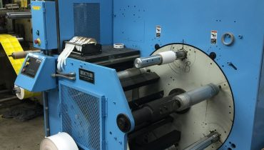 KTI Turret Rewinder - Used Flexo Printing Presses and Used Flexographic Equipment