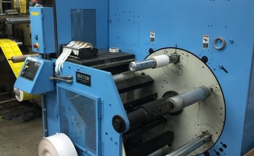 KTI Turret Rewinder - Used Flexo Printing Presses and Used Flexographic Equipment