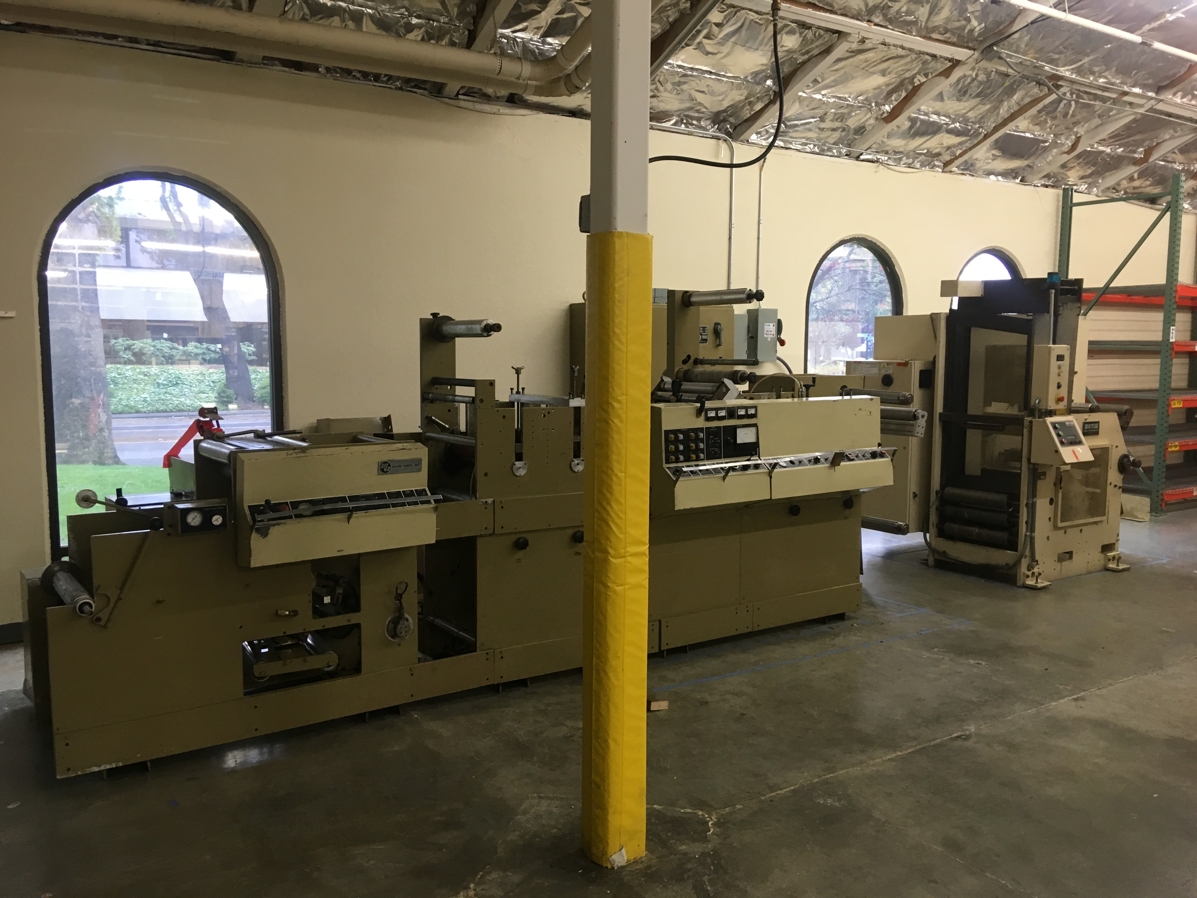 Mark Andy 4120 - Used Flexo Printing Presses and Used Flexographic Equipment-0