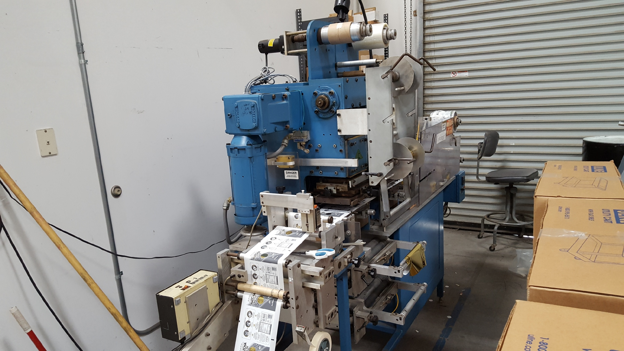 Franklin Hot Foil - Used Flexo Printing Presses and Used Flexographic Equipment-0
