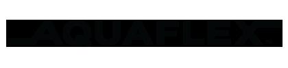 Aquaflex logo in color