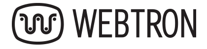 Webtron logo in color