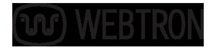Webtron logo in color