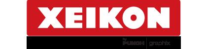Xeikon logo in color