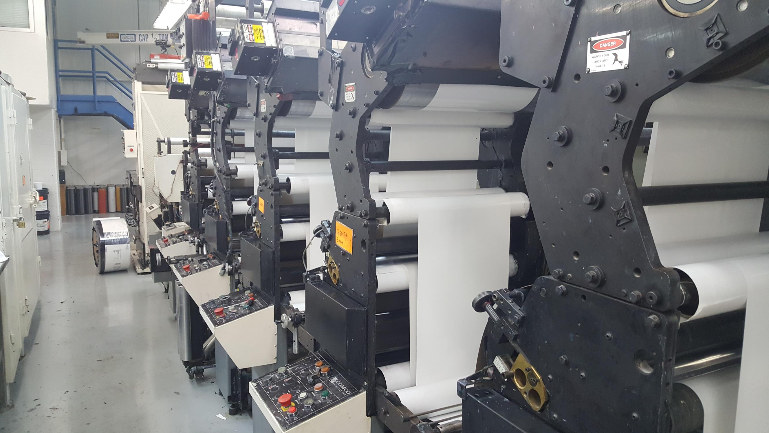 Comco ProGlide - Used Flexo Printing Presses and Used Flexographic Equipment-5
