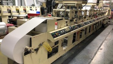 Mark Andy 4150 - Used Flexo Printing Presses and Used Flexographic Equipment