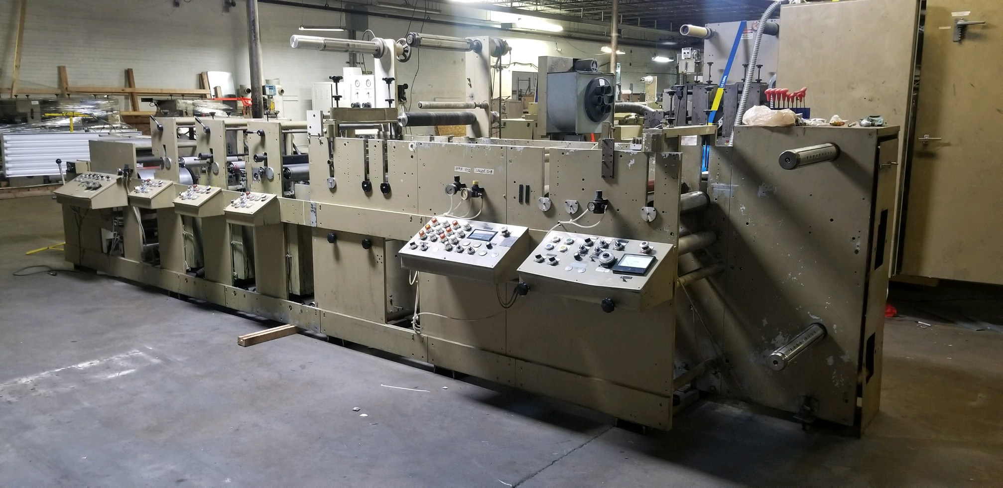 Mark Andy 4120 - Used Flexo Printing Presses and Used Flexographic Equipment-3