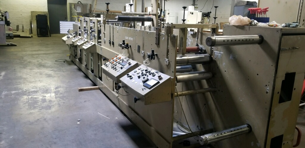 Mark Andy 4120 - Used Flexo Printing Presses and Used Flexographic Equipment-4