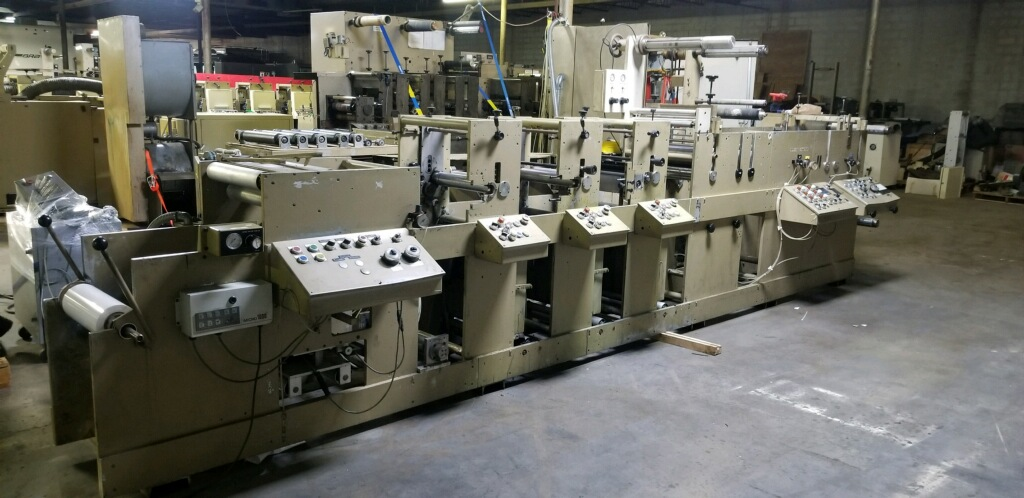 Mark Andy 4120 - Used Flexo Printing Presses and Used Flexographic Equipment-5