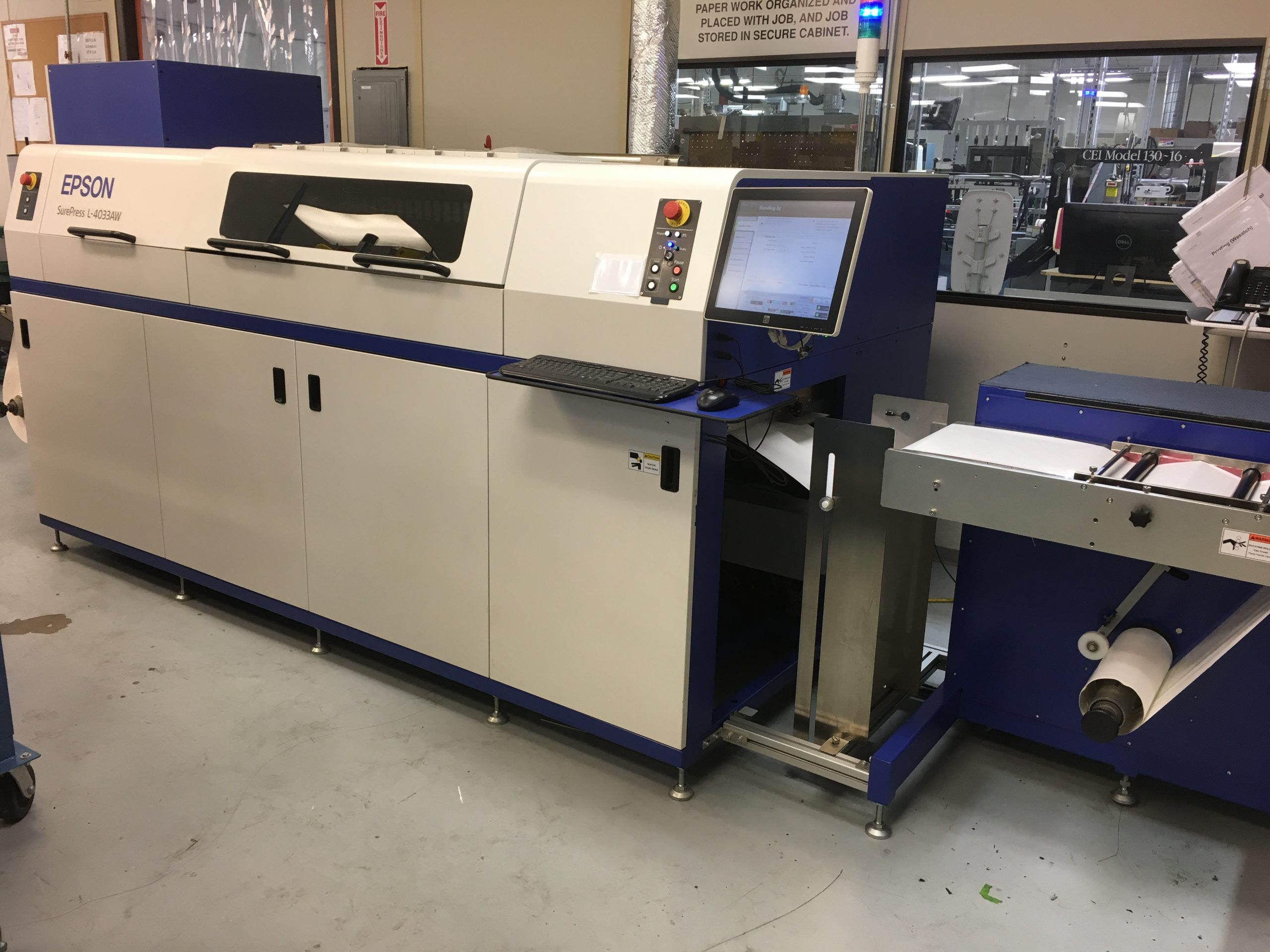 Epson Surepress L-4033AW - Used Flexo Printing Presses and Used Flexographic Equipment-1