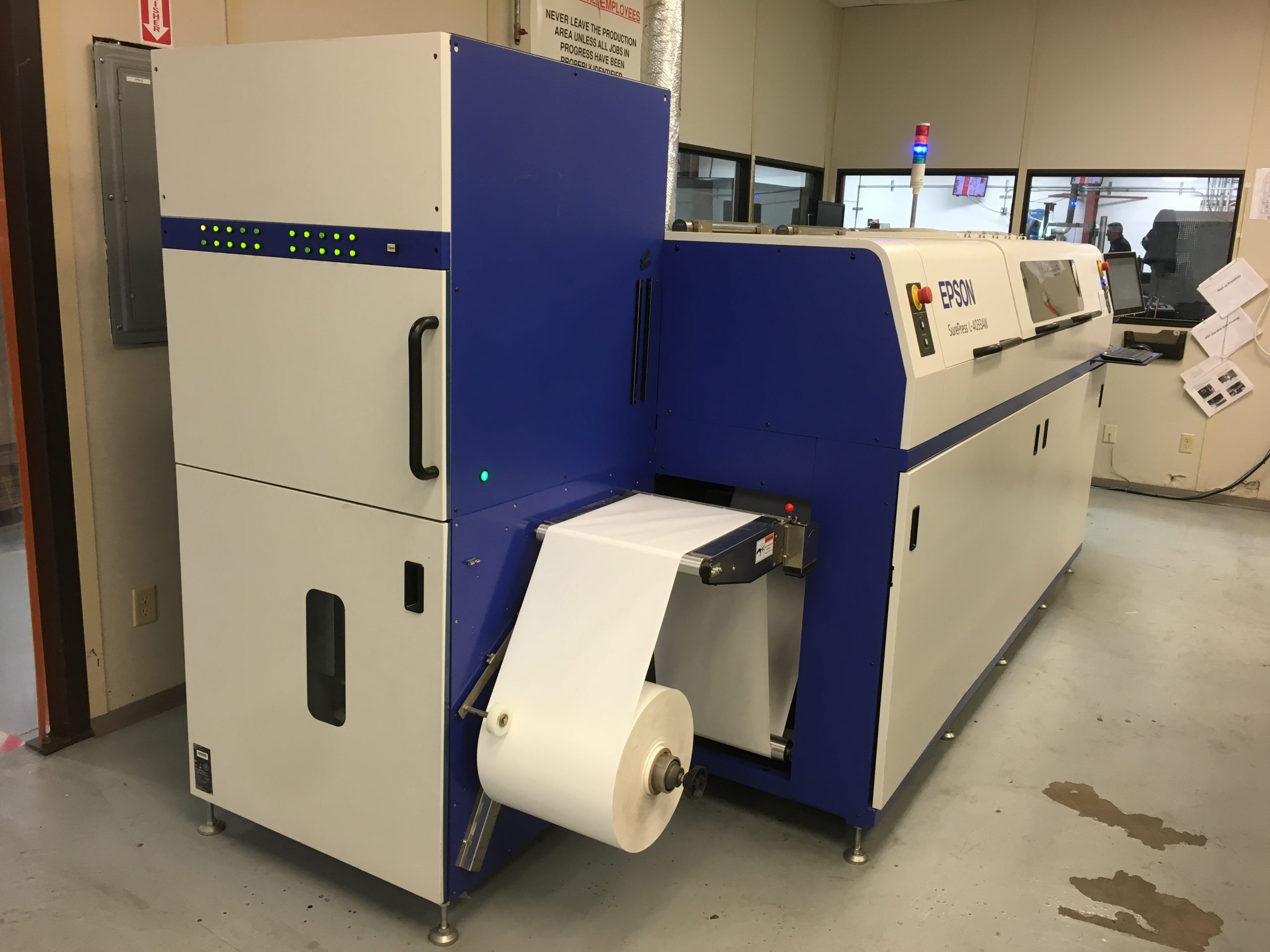 Epson Surepress L-4033AW - Used Flexo Printing Presses and Used Flexographic Equipment-2