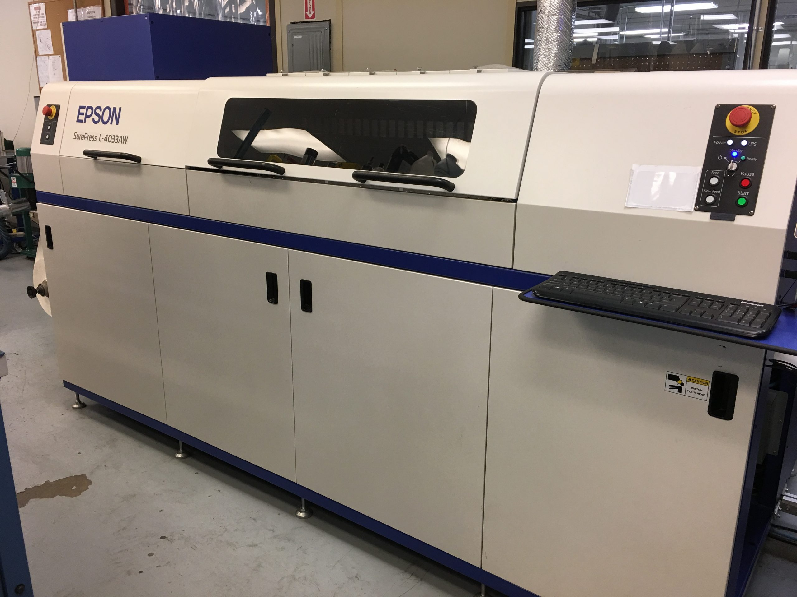 Epson Surepress L-4033AW - Used Flexo Printing Presses and Used Flexographic Equipment-3