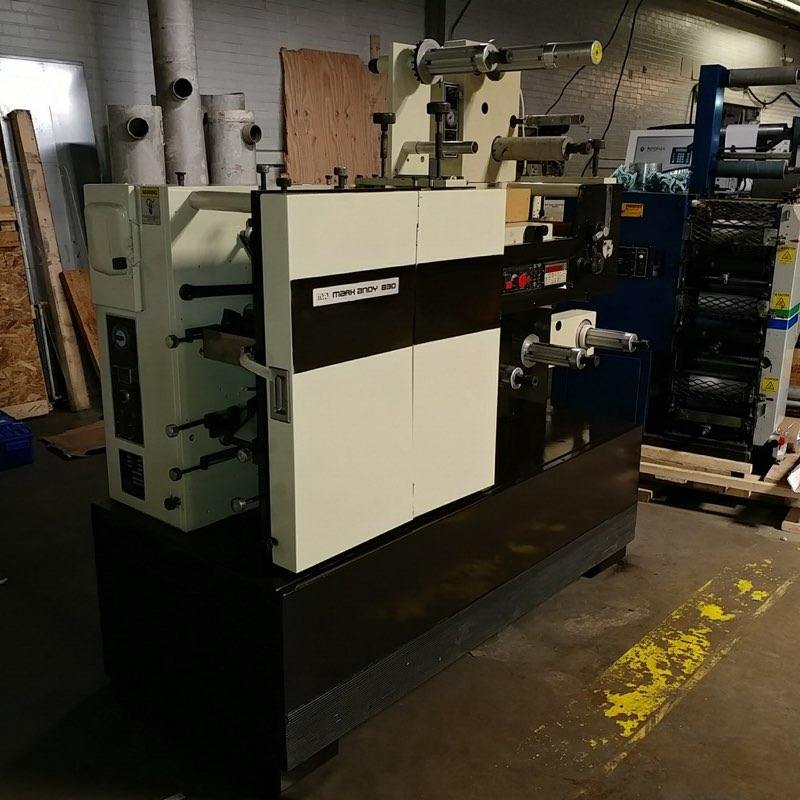 Mark Andy 830 - Used Flexo Printing Presses and Used Flexographic Equipment-2