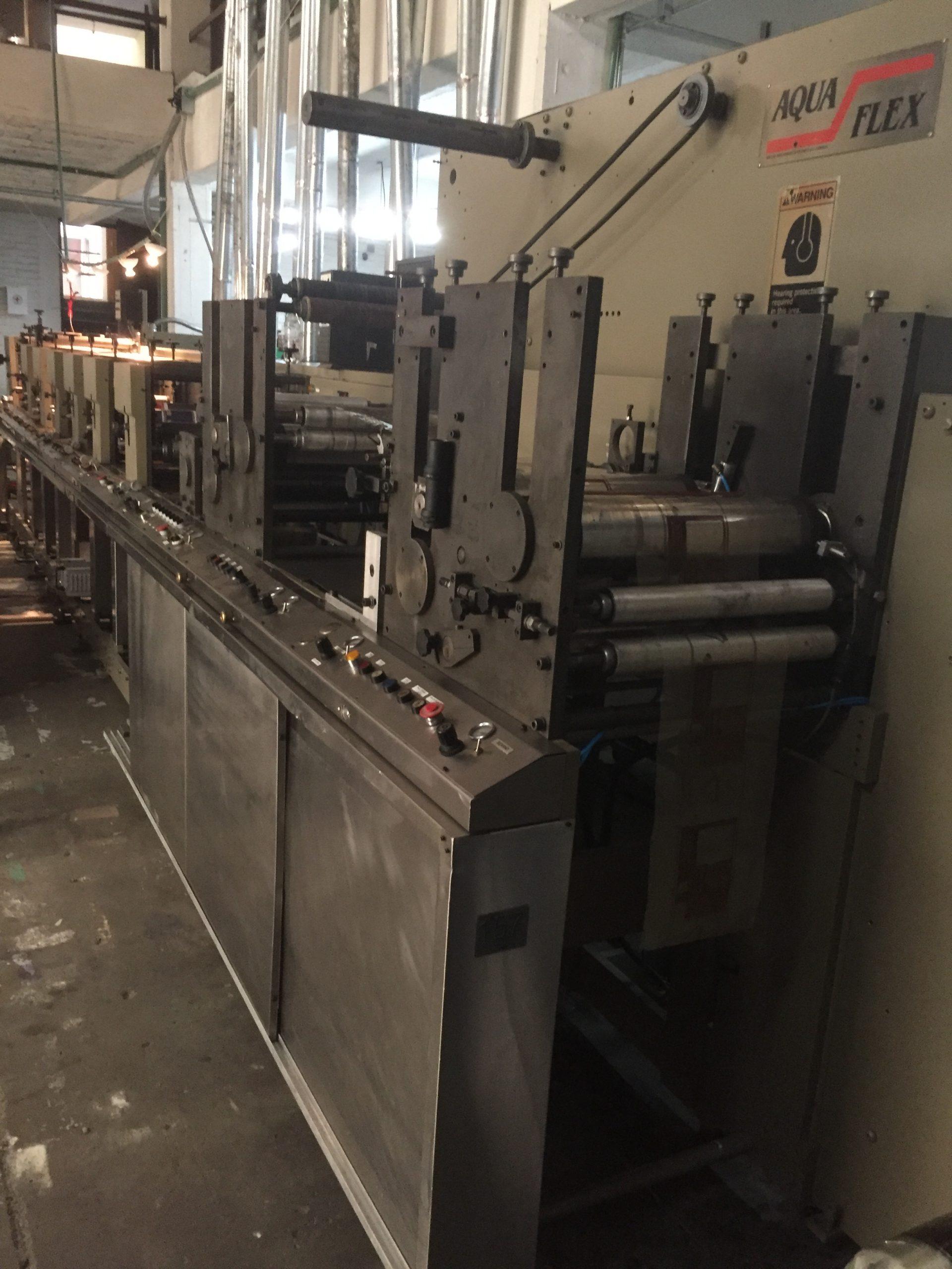 Aquaflex - Used Flexo Printing Presses and Used Flexographic Equipment-1