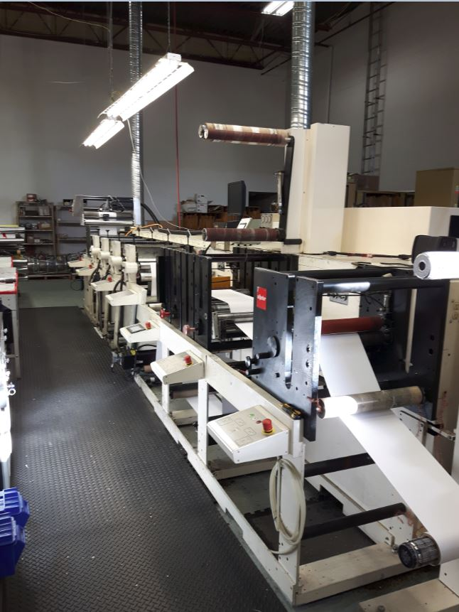 Nilpeter FBZ-4200 - Used Flexo Printing Presses and Used Flexographic Equipment-1