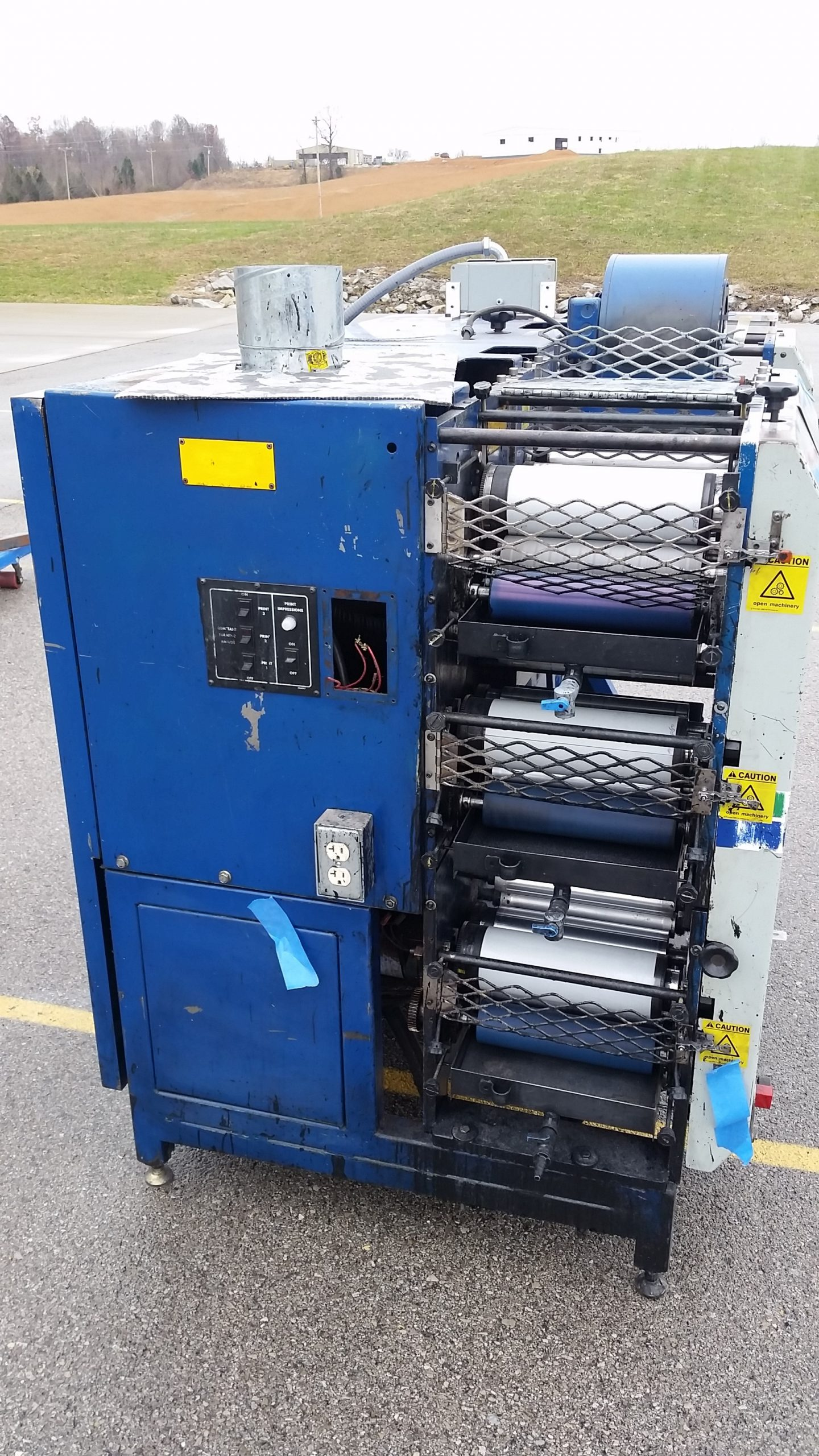 Allied Flexomaster 1B - Used Flexo Printing Presses and Used Flexographic Equipment-1
