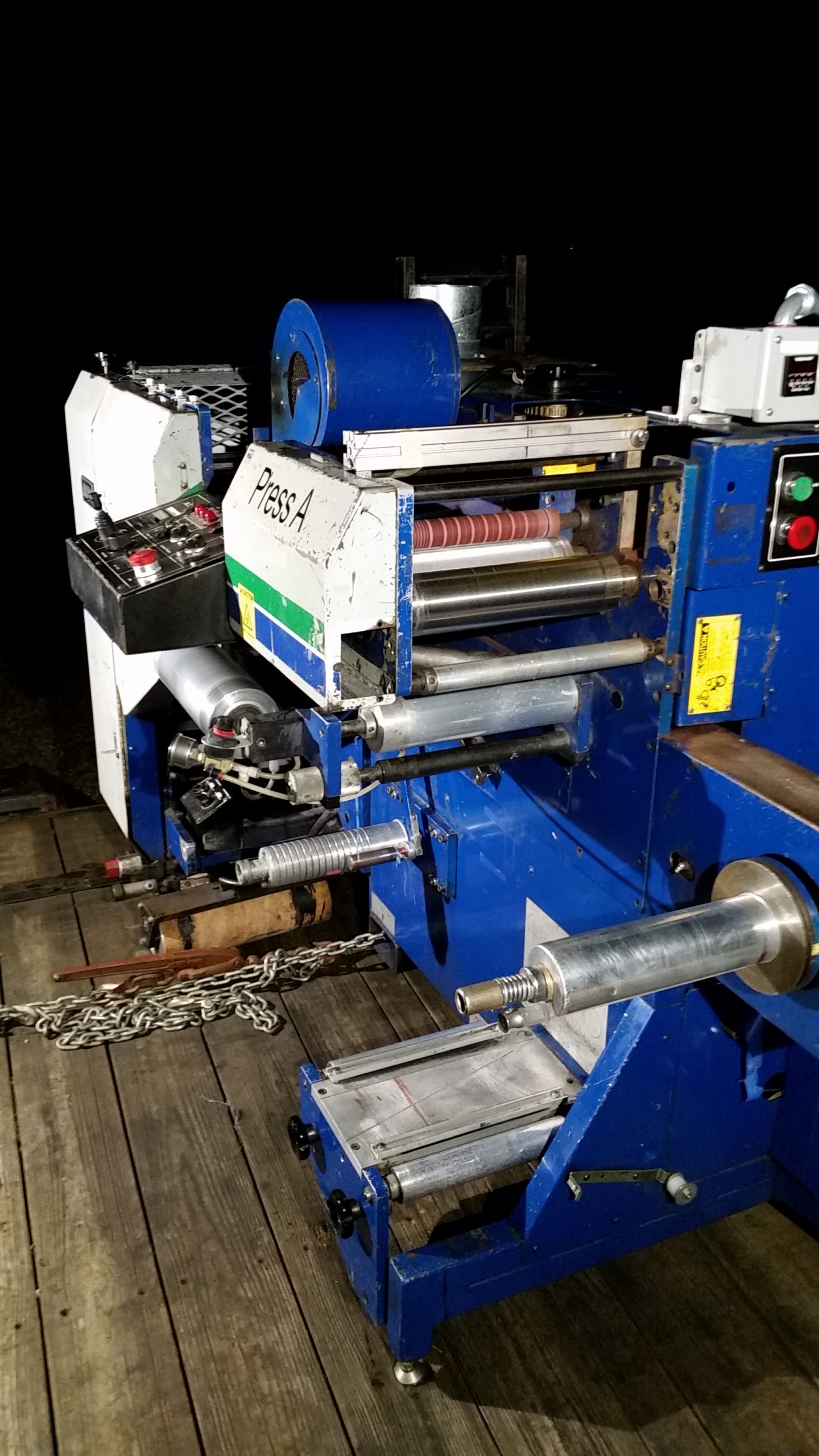 Allied Flexomaster 1B - Used Flexo Printing Presses and Used Flexographic Equipment-6