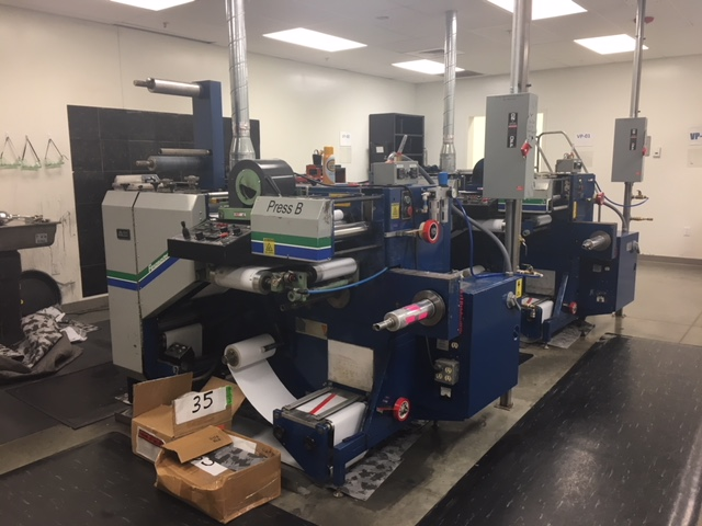 Allied Flexomaster 1B - Used Flexo Printing Presses and Used Flexographic Equipment-10