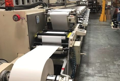 Nilpeter FA4 - Used Flexo Printing Presses and Used Flexographic Equipment