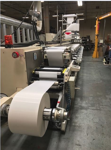 Nilpeter FA4 - Used Flexo Printing Presses and Used Flexographic Equipment-1