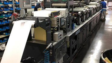Gallus EM340 - Used Flexo Printing Presses and Used Flexographic Equipment