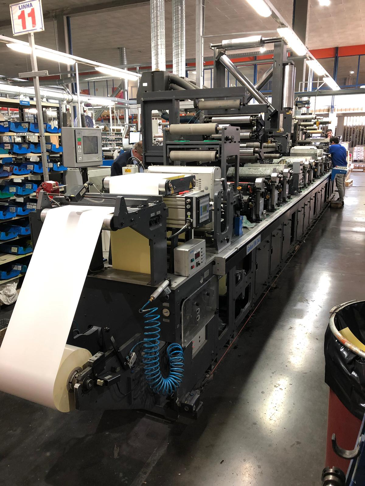 Gallus EM340 - Used Flexo Printing Presses and Used Flexographic Equipment-0