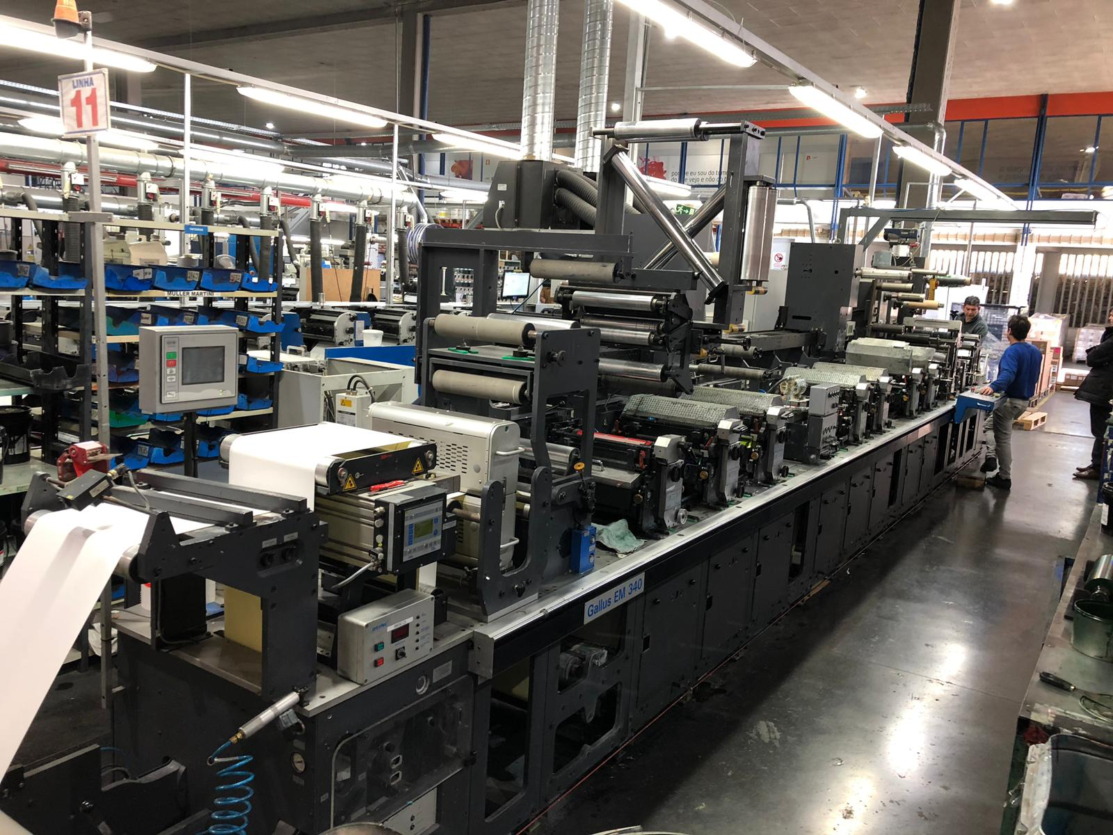Gallus EM340 - Used Flexo Printing Presses and Used Flexographic Equipment-1