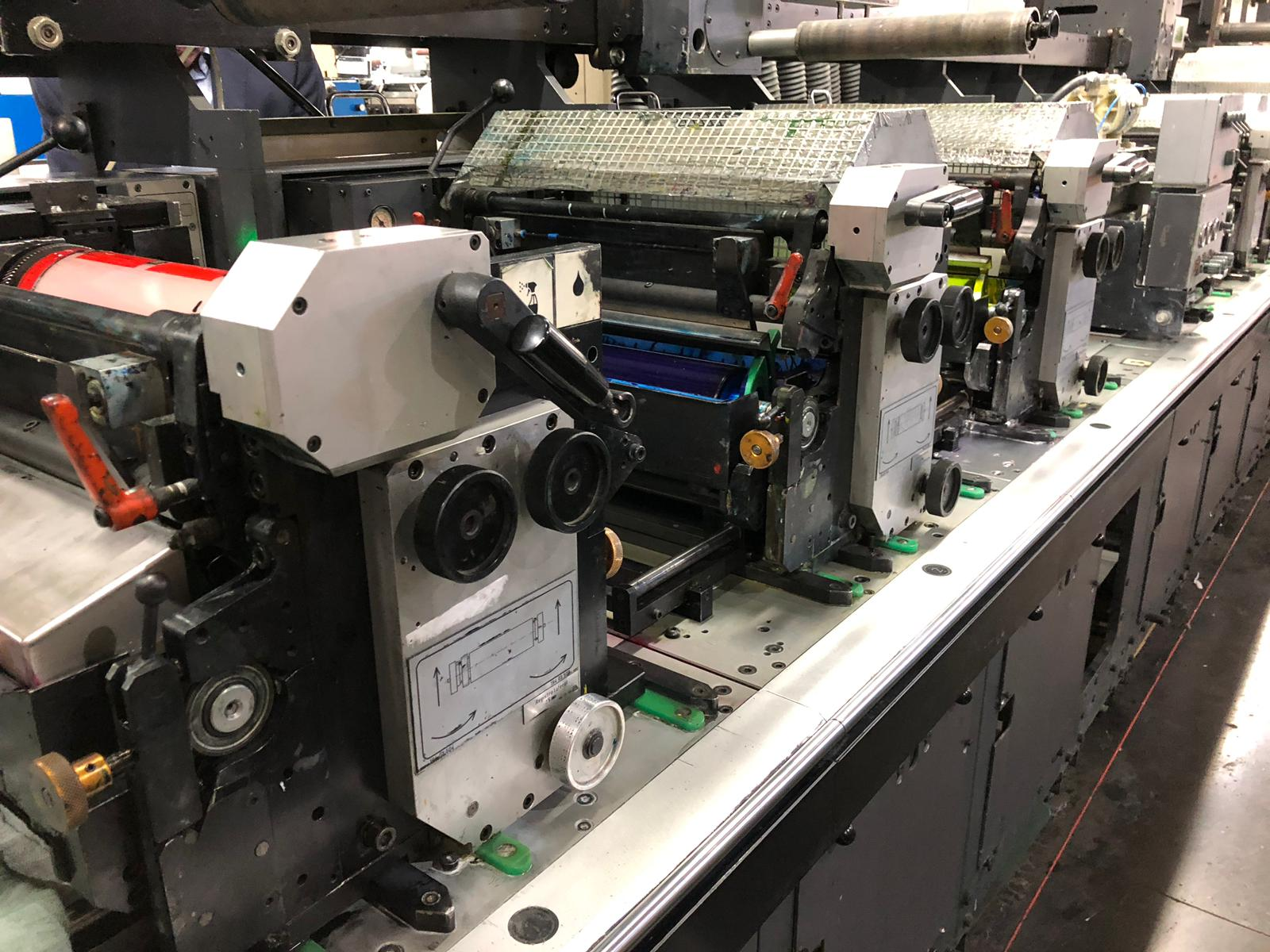 Gallus EM340 - Used Flexo Printing Presses and Used Flexographic Equipment-6